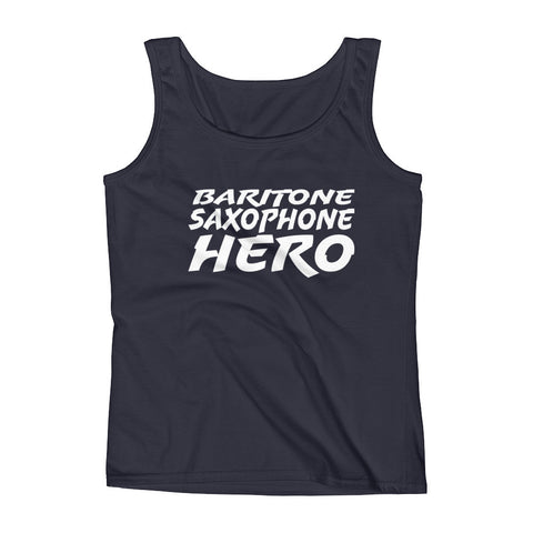 Image of Baritone Saxophone Hero, Ladies' Tank