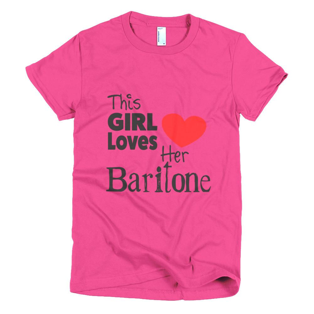 This Girl Loves Her Baritone Shirt