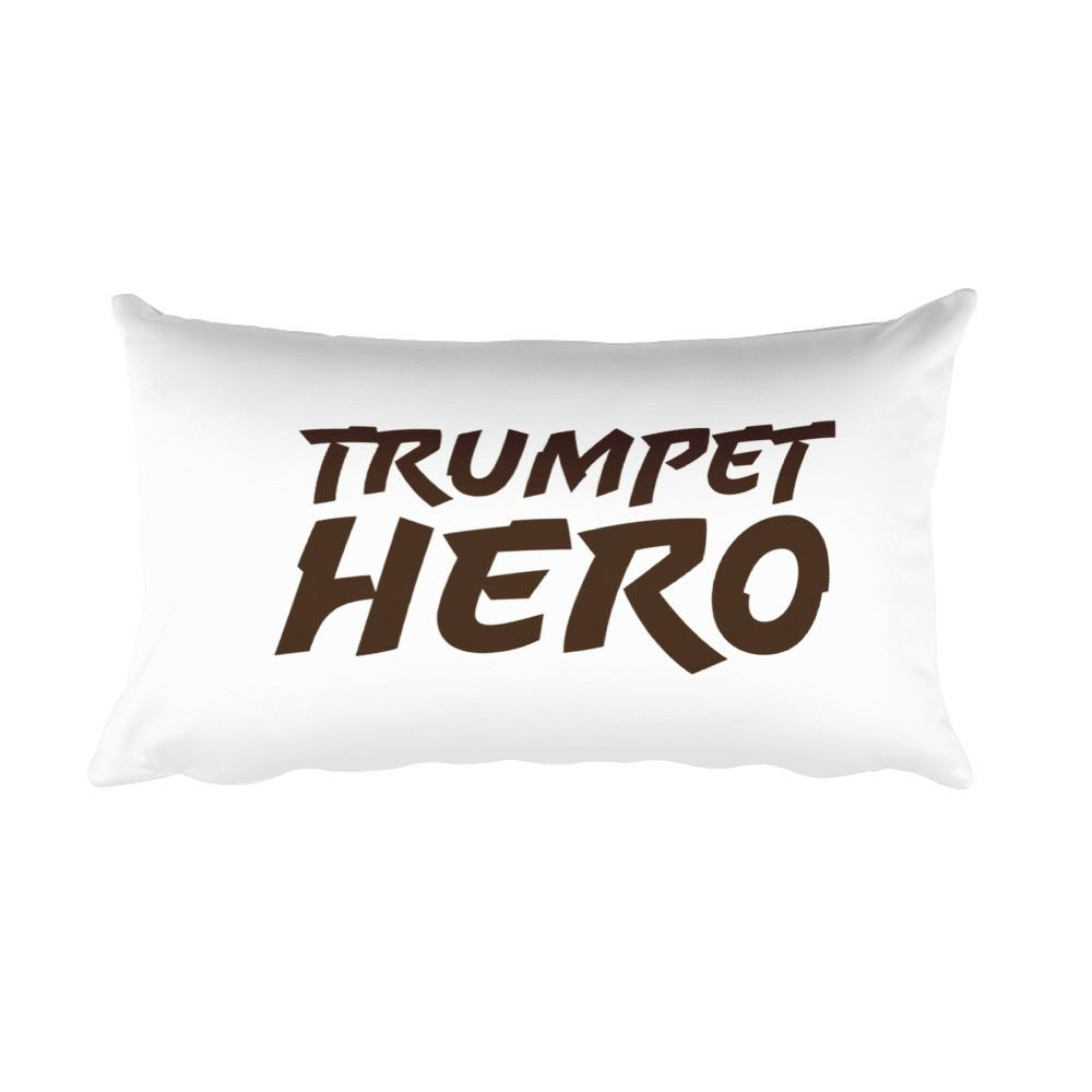 Trumpet Hero, Rectangular Pillow
