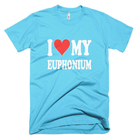 Image of I Love My Euphonium, men's t-shirt
