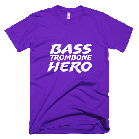 Image of Bass Trombone Hero, Short sleeve men's t-shirt