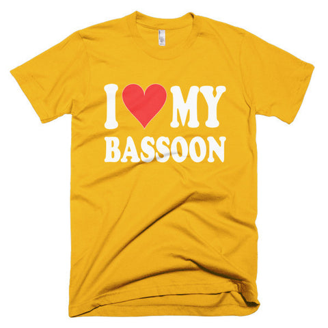 Image of I Love My Bassoon, men's t-shirt