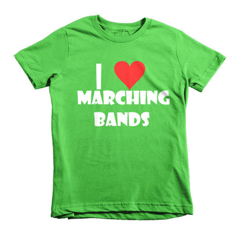 I Love Marching Bands, Childrens t-shirt