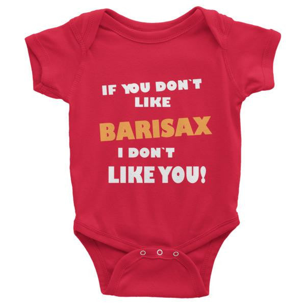 If you don't like barisax, I don't like you!, Childrens short sleeve one-piece saxophone