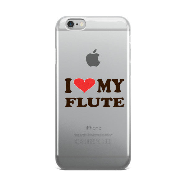 I Love My Flute, iPhone case