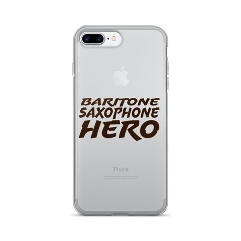 Image of Baritone Saxophone Hero, iPhone 7/7 Plus Case
