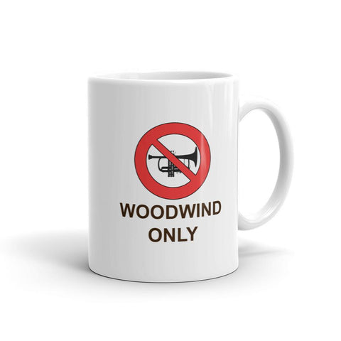 Image of Woodwind Only Mug