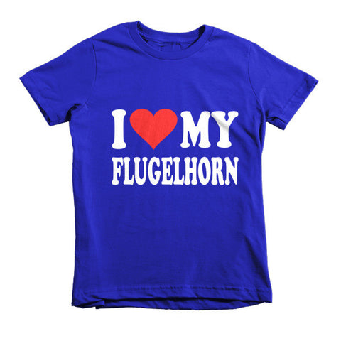 Image of I Love My FLugelhorn, Childrens t-shirt