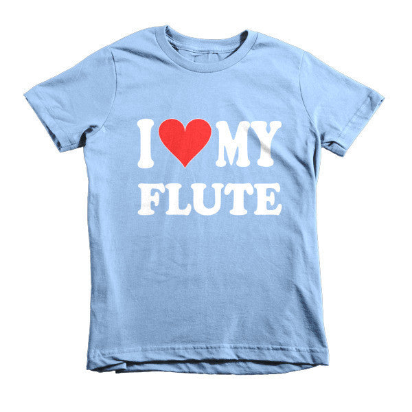 I Love My Flute, Childrens  t-shirt