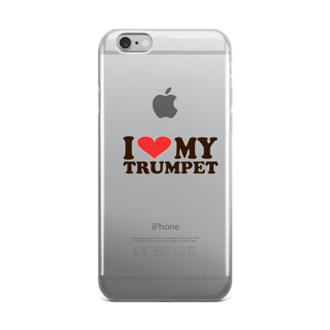 I Love My Trumpet, iPhone case