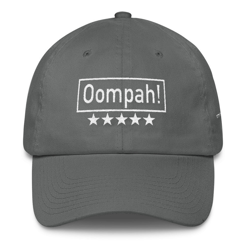 Oompah, Emboidery Cotton Cap
