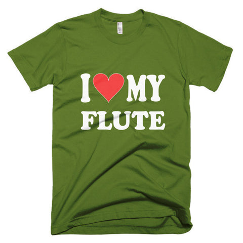 Image of I Love My Flute, men's t-shirt