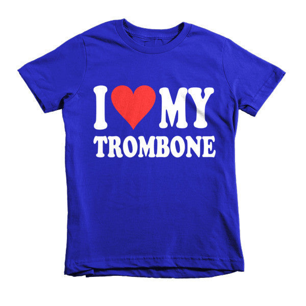 I Love My Trombone, Childrens t-shirt