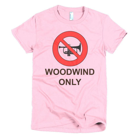 Image of Woodwind Only -  women's t-shirt