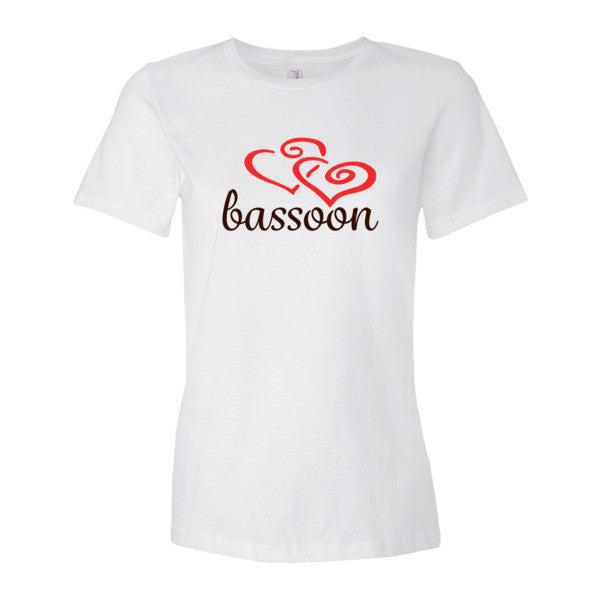 Bassoon Heart - Women's short sleeve t-shirt