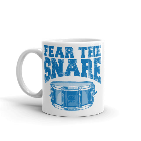 Image of Fear The Snare Drum Percussion Mug