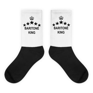 Baritone King, Black foot socks