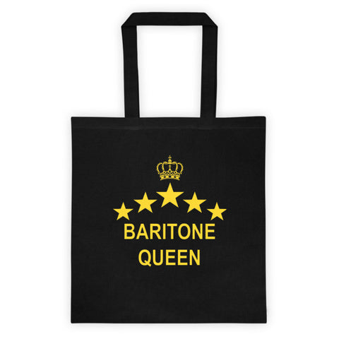 Baritone Queen Tote bag