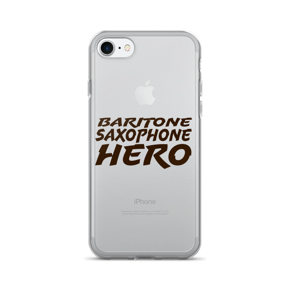 Baritone Saxophone Hero, iPhone 7/7 Plus Case
