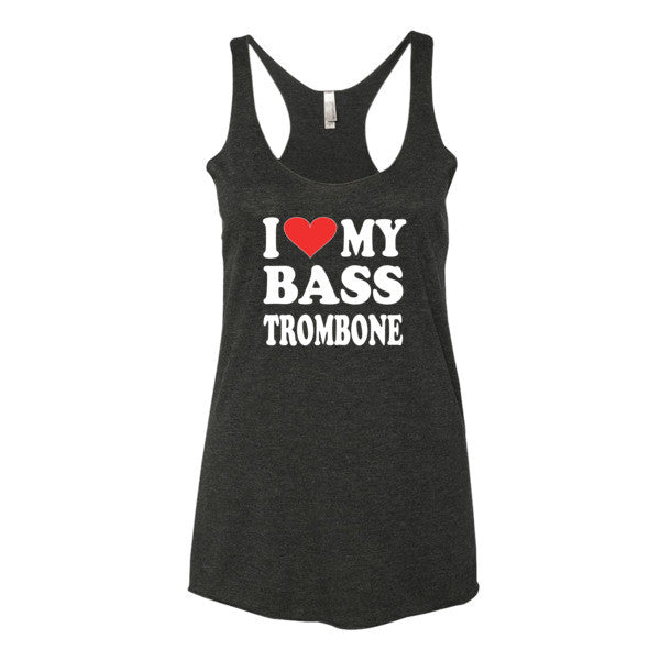 I Love My Bass Trombone, Women's tank top