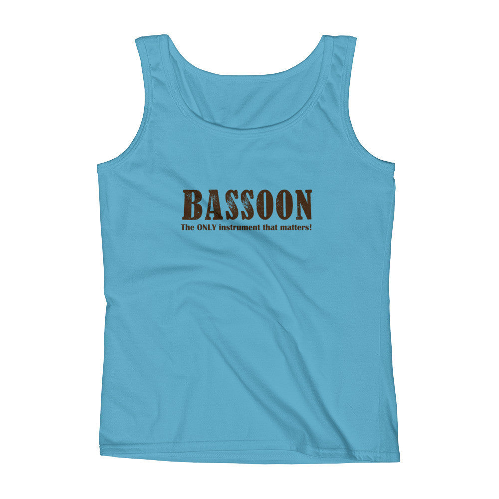 Bassoon, The Only Instrument That matters, Ladies' Tank top