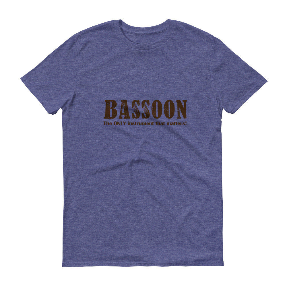 Bassoon, The only instrument that matters, Mens Short sleeve t-shirt