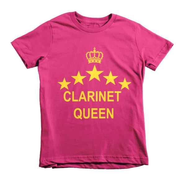 Clarinet Queen childrens t-shirt