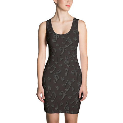 Image of Notes & Stars Womens  Dress