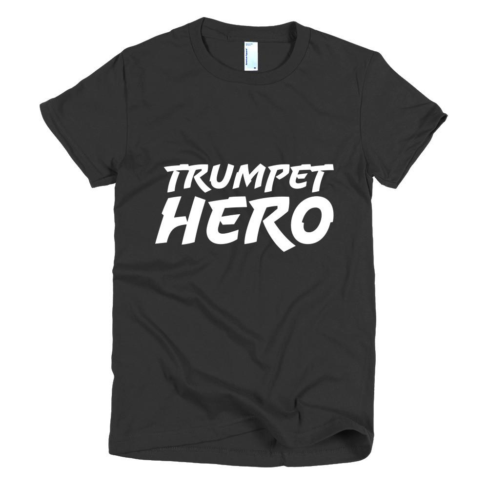 Trumpet Hero, Short sleeve women's t-shirt