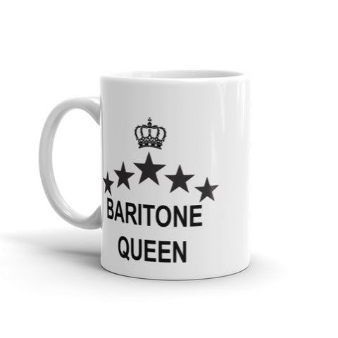 Image of Baritone Queen Mug