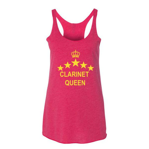 Image of Clarinet Queen Women's tank top