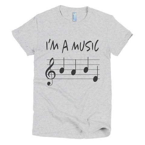 Image of Music Babe women's t-shirt