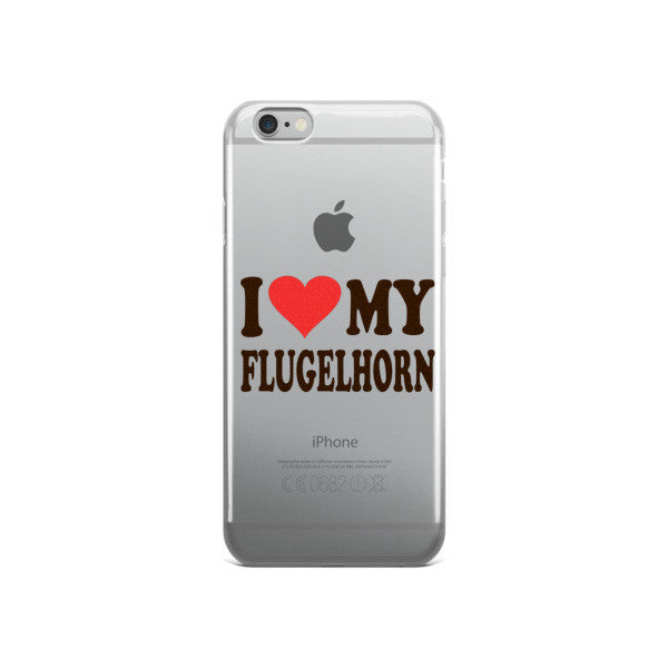I Love My FLugelhorn, iPhone case