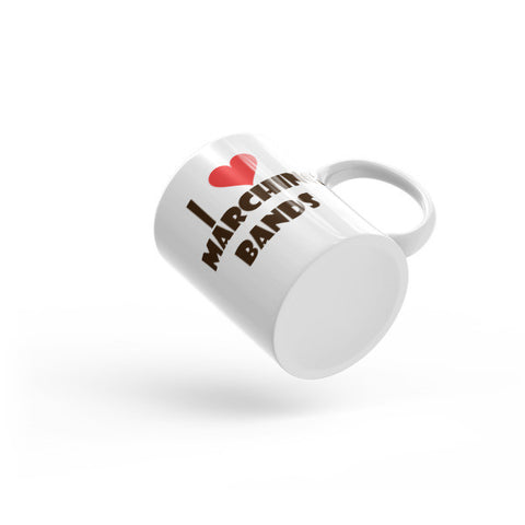 Image of I Love Marching Bands, Mug