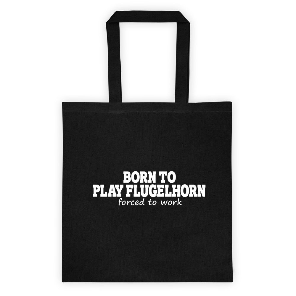Born To Play Flugelhorn Tote bag