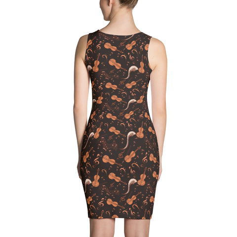 Image of Strings and Notes Womens Dress