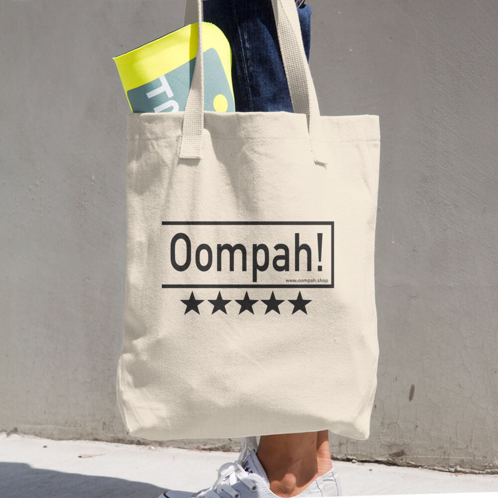 Oompah!, Cotton Tote Bag