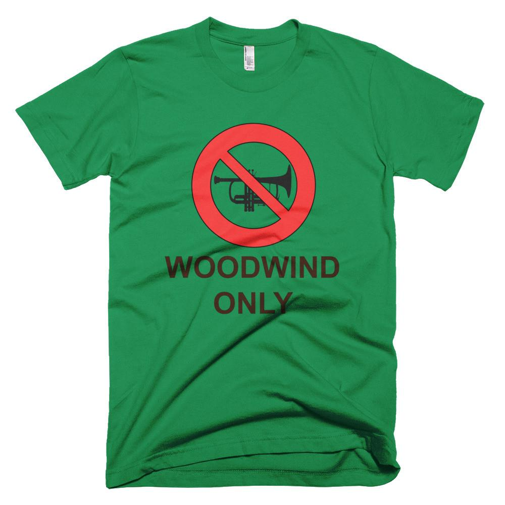 Woodwind Only  - men's t-shirt