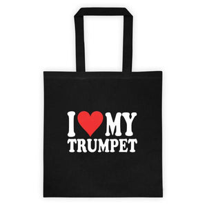 I Love My Trumpet, Tote bag