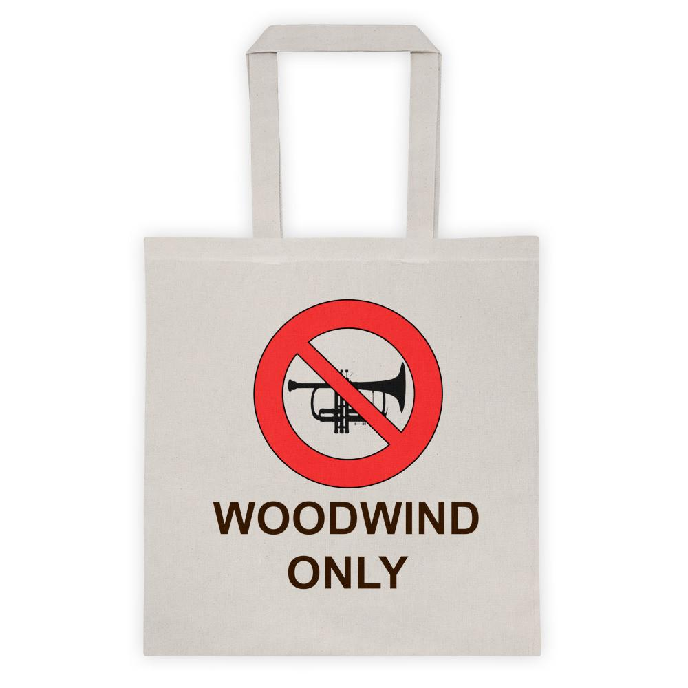Woodwind Only Tote bag