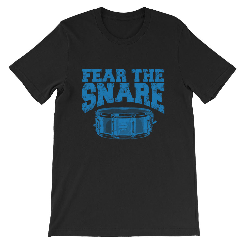 Fear The Snare, Mens Short-Sleeve Unisex T-Shirt