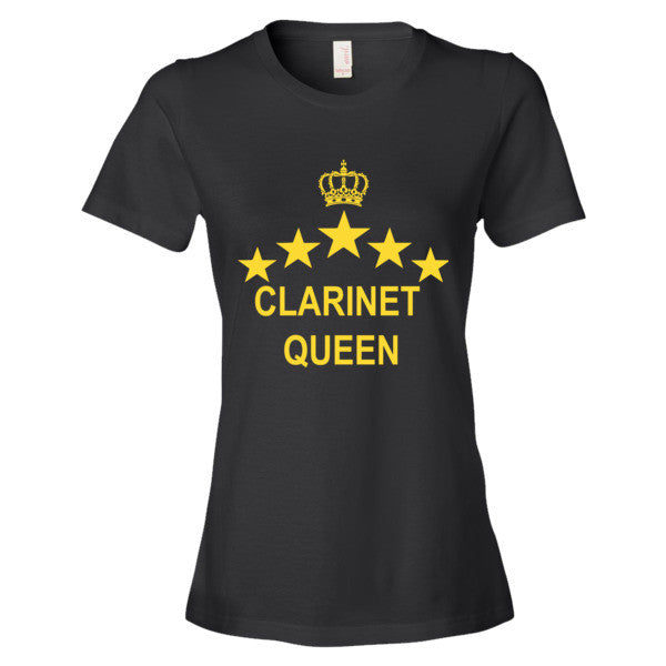 Clarinet Queen - Women's short sleeve t-shirt