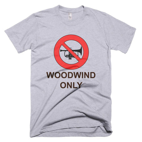 Image of Woodwind Only  - men's t-shirt