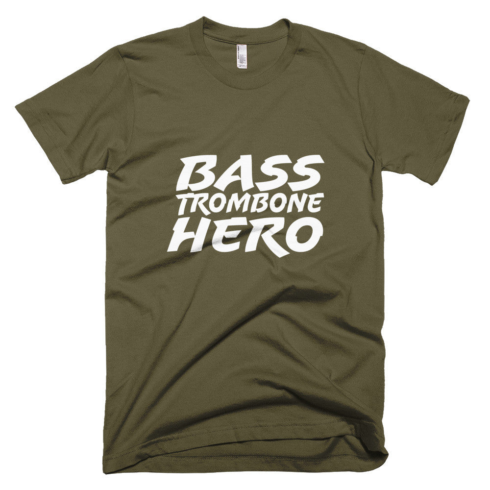 Bass Trombone Hero, Short sleeve men's t-shirt