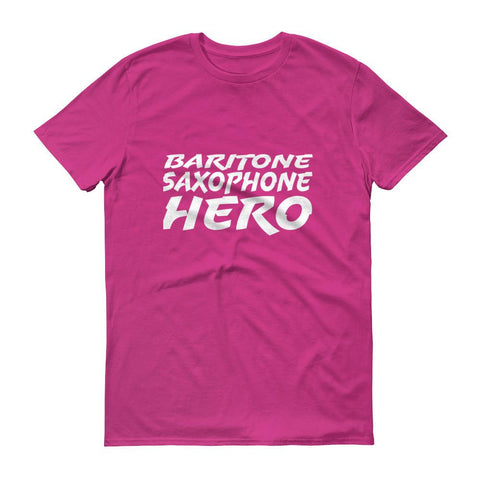 Image of Baritone Saxophone Hero, Short sleeve t-shirt
