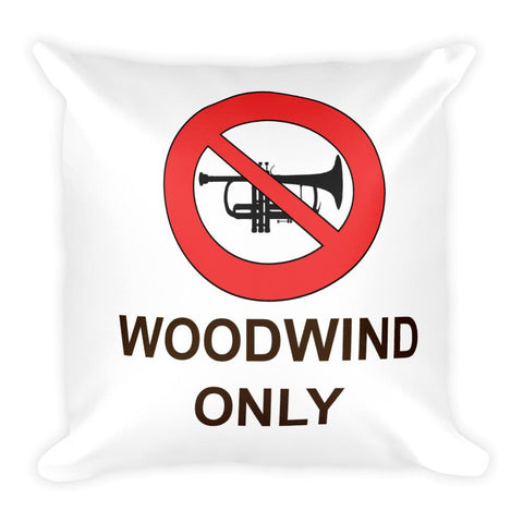 Woodwind Only Pillow