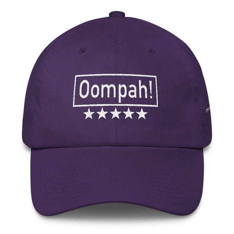 Image of Oompah, Emboidery Cotton Cap