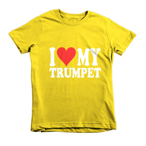 Image of I Love My Trumpet, Childrens t-shirt