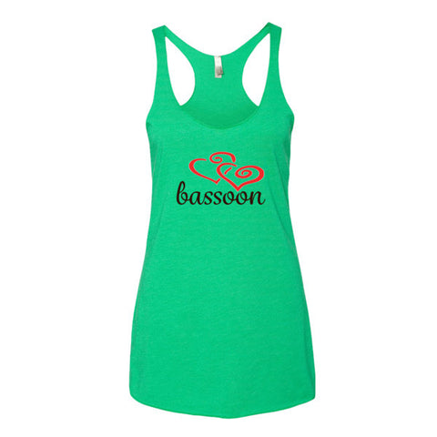 Image of Bassoon Heart - Women's tank top