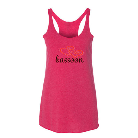 Bassoon Heart - Women's tank top
